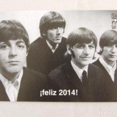 Fotos de Cantantes: POSTAL FELIZ AÑO 2014 SGT. BEATLES FAN CLUB . Lote 156461142