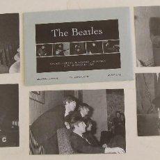 Fotos de Cantantes: POSTALES THE BEATLES GAUMONT CINEMA DONCASTER 1963 EDICION LIMITADA Y NUMERADA. Lote 162711684