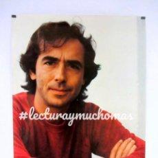 Fotos de Cantantes: JOAN MANUEL SERRAT. HISTÓRICO CARTEL ORIGINAL PROMOCIONAL DE 1983. 69X99 CMS.. Lote 121338051