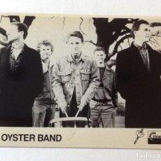 Fotos de Cantantes: THE OYSTER BAND, POSTAL PROMOCIONAL AÑOS 80. Lote 156660486