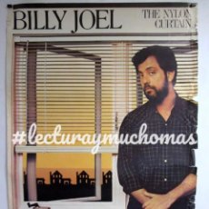 Fotos de Cantantes: BILLY JOEL ORIGINAL POSTER 83X121 CMS THE NYLON CURTAIN 1982. Lote 99196783
