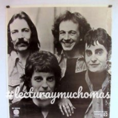 Fotos de Cantantes: MAGNA CARTA. CARTEL PROMOCIONAL DE LA BANDA DE FOLK PROGRESIVO BRITÁNICA (1982).. Lote 99161247