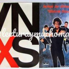 "Fotos de Cantantes: INXS ""X"" (1990). CARTEL PROMOCIONAL DEL ÁLBUM.. Lote 99204747"