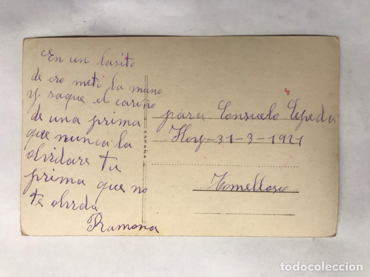 Fotos de Cantantes: POSTAL. Cupletista. TRINI LA MARQUESITA. España (a.1921) - Foto 2 - 157864086
