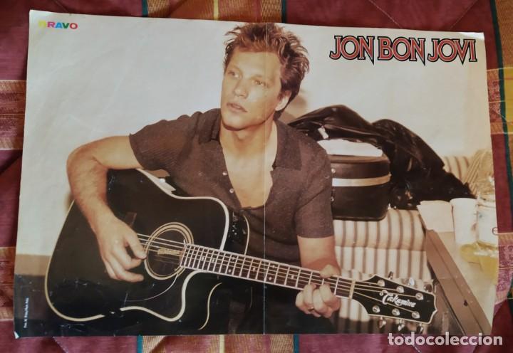 PÓSTER JON BON JOVI (Música - Fotos y Postales de Cantantes)