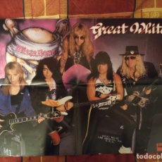 Fotos de Cantantes: PÓSTER GREAT WHITE. Lote 159914930