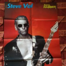 Fotos de Cantantes: PÓSTER DOBLE STEVE VAI + MACHINE HEAD. Lote 159915090