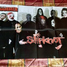 Fotos de Cantantes: PÓSTER DOBLE SLIPKNOT + SLASH. Lote 159915446