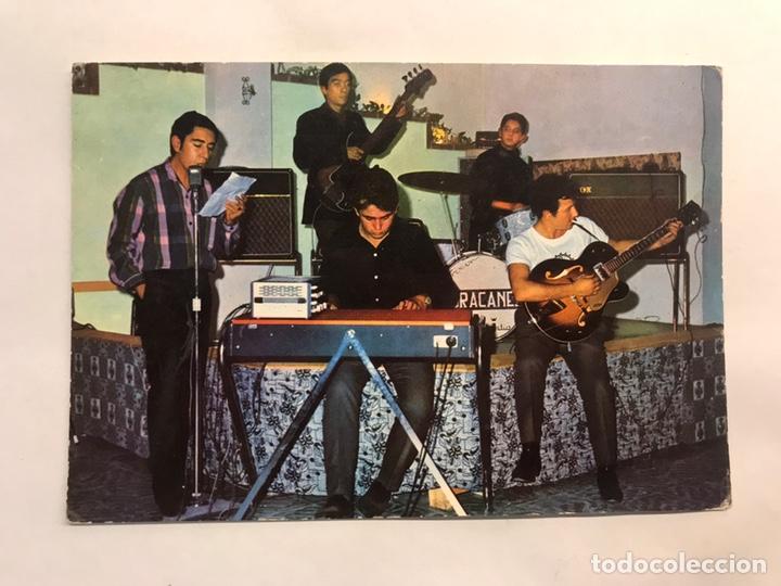 MÚSICA. LOS HURACANES. POSTAL DISCOGRÁFICA. EDITA : ED. ORTIN ROYO (H.1960?) (Música - Fotos y Postales de Cantantes)
