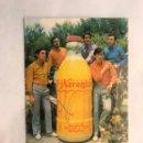 Fotos de Cantantes: MÚSICA. ELS 5 XICS. POSTAL DISCOGRÁFICA EDITA:LITOGRAFÍA MIRABET (H.1960?). Lote 159919388