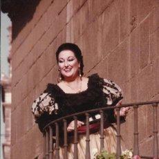 Fotos de Cantantes: MONTSERRAT CABALLÉ. FOTOGRAFÍA BARBIERE DI SIVIGLIA. EL BARBERO DE SEVILLA. NICE. NIZA. 1981.. Lote 160471814