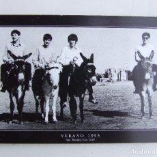 Fotos de Cantores: POSTAL FELIZ VERANO SGT. BEATLES FAN CLUB 1995. Lote 203028092