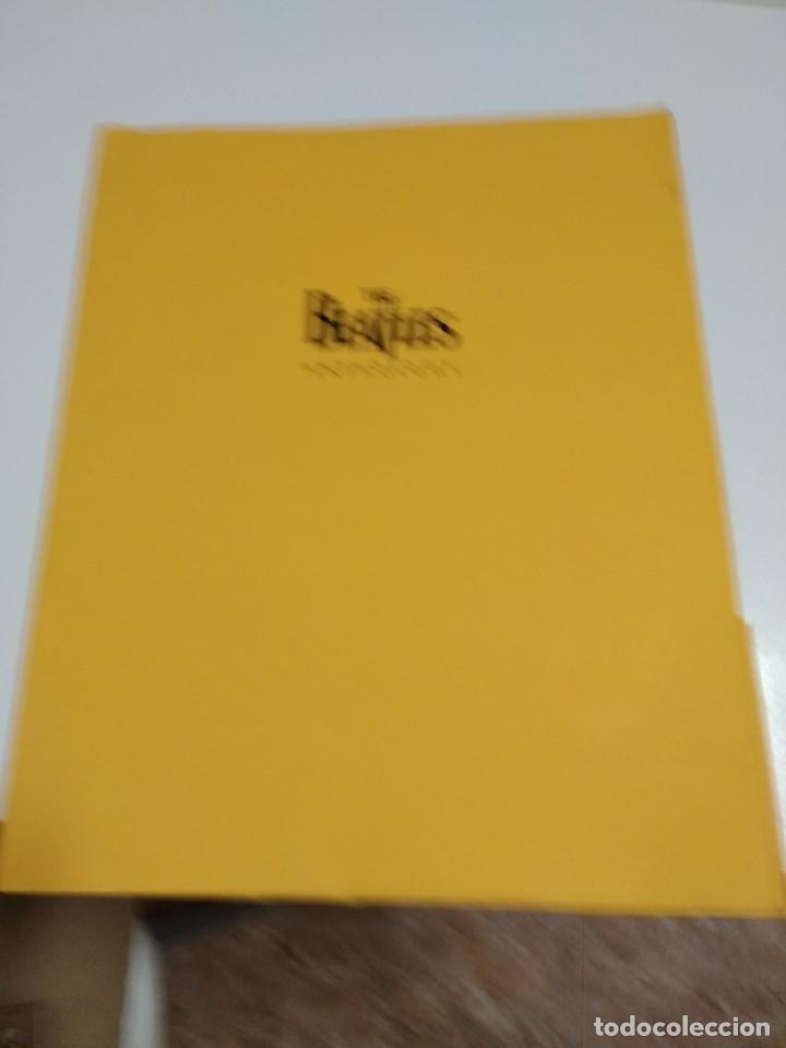 BEATLES FOTOS Y COMUNICADO DE PRENSA ANTHOLOGY EN INGLES Y ESPAÑOL (Música - Fotos y Postales de Cantantes)
