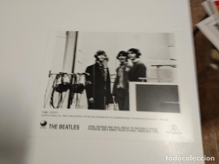Fotos de Cantantes: BEATLES FOTOS Y COMUNICADO DE PRENSA ANTHOLOGY EN INGLES Y ESPAÑOL - Foto 2 - 161301894