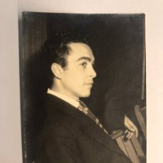 Fotos von Musikern - RAFAEL CONDE EL TITI. Fotografía dedicada (h.1960?) - 162821164