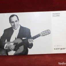 Fotos de Cantantes: FOTO POSTAL FRANCIS PELUFFO EN DISCO VERGARA, AÑOS 60. Lote 164184750