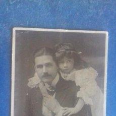 Fotos de Cantantes: MR KENNERLEY RUMFORD (BARÍTONO DE LA INGLATERRA EDUARDIANA) & DAUGHTER. BEAGLES G 178 E. C. 1905.. Lote 164213162