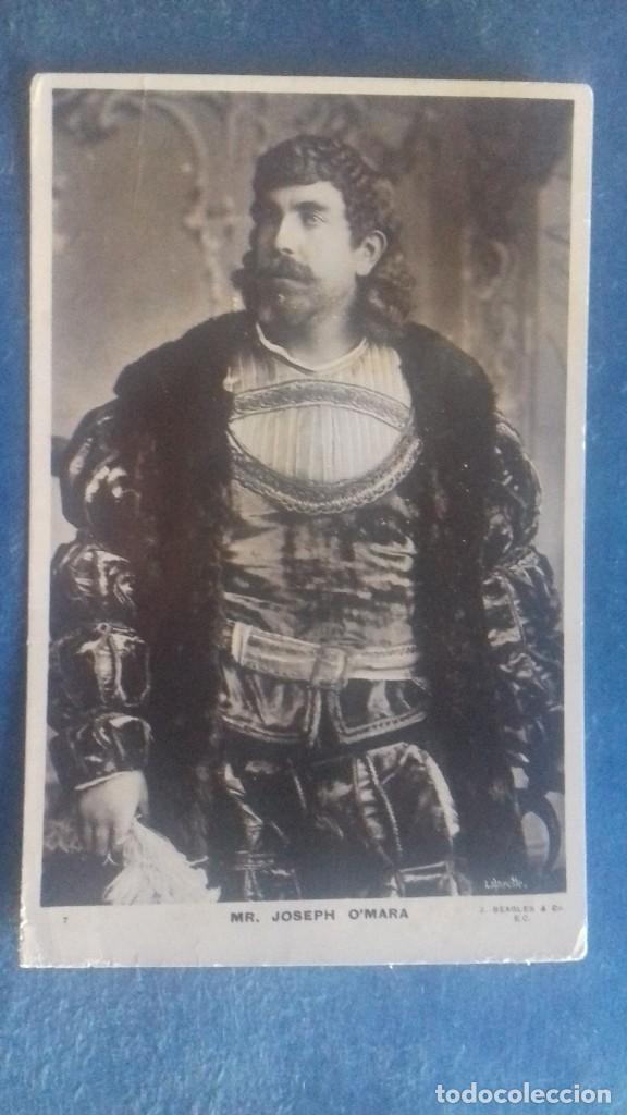 MR. JOSEPH O´MARA (CANTANTE DE ÓPERA IRLANDÉS DE LA ÉPOCA EDUARDIANA). BEAGLES 7. S/C. C. 1905. (Música - Fotos y Postales de Cantantes)