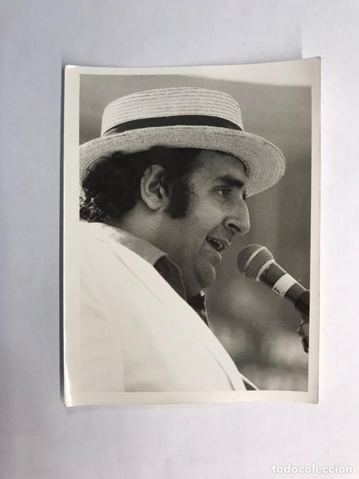 JOAN MONLEÓN. ACTOR Y CANTANTE VALENCIANO FOTOGRAFÍA ORIGINAL (H.1960?) (Música - Fotos y Postales de Cantantes)