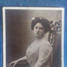 Fotos de Cantantes: MADAME KIRKBY LUNN (CANTANTE DE ÓPERA DE ÉPOCA EDUARDIANA) BEAGLES, 472 B. SIN CIRCULAR. C. 1905.. Lote 164630934