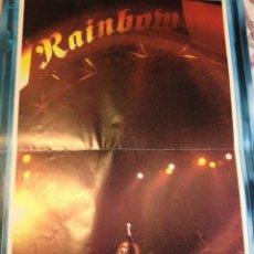 Fotos de Cantantes: RAINBOW - POSTER ESPAÑOL ORIGINAL AÑOS 80 - HEAVY - GARY MOORE BAND. Lote 164868038