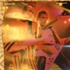 Fotos de Cantantes: SCORPIONS - PÓSTER ORIGINAL AÑOS 80 - HEAVY - EDDIE VAN HALEN. Lote 164869226