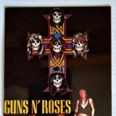 Fotos de Cantantes: POSTAL GUNS N ROSES 1987. Lote 167568192