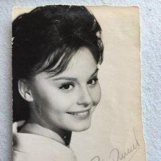 Photos de Chanteurs et Chanteuses: ROCIO DURCAL. FIRMADA. Lote 196872795