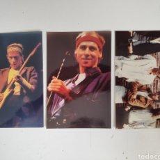 Photos de Chanteurs et Chanteuses: DIRE STRAITS. LOTE DE 3 FOTOGRAFIAS. AÑOS 80.. Lote 167940049