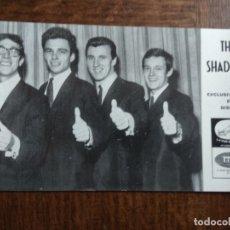 Fotos de Cantantes: THE SHADOWS - FOTO POSTAL ORIGINAL -. Lote 168471384