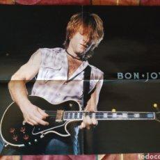 Fotos de Cantantes: POSTER DOBLE BON JOVI + DEEP PURPLE. Lote 169351616