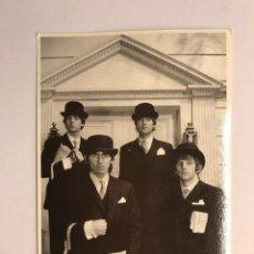 Fotos de Cantantes: BEATLES. POSTAL FOTOGRÁFICA. SIN IDENTIFICAR EDITOR. Lote 170196489