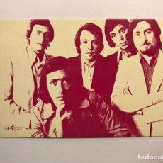 Fotos de Cantantes: 5 CHICS. GRUPO MUSICAL VALENCIANO. POSTAL DISCOGRÁFICA IMGESA (A.1971) DEDICADA. Lote 170197082
