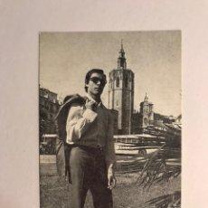 Fotos de Cantantes: CANTANTES. LUIS ESCUDERO. POSTAL DISCOGRÁFICA FIRMADA ... (H.1980?). Lote 170207796