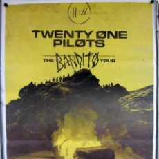 Fotos de Cantantes: TWENTY ONE PILOTS. THE BANDITO TOUR.. CARTEL ORIGINAL CONCIERTO BEC BILBAO 15/3/2019.. Lote 170878544
