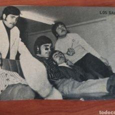 Fotos de Cantantes: FOTOGRAFÍA DEL GRUPO LOS SALVAJES. Lote 170953787