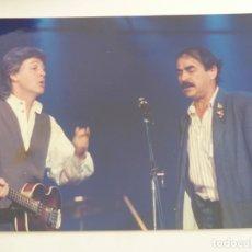 Fotos de Cantantes: PAUL MCCARTNEY BEATLES WINGS FOTO ORIGINAL AÑOS 80 . Lote 170957392
