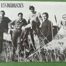 Fotos de Cantantes: LOS DIAPASONS FOTOGRAFÍA PROMOCIONAL . Lote 171274218