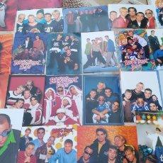 Fotos de Cantantes: ALBUM CON 26 FOTO POSTALES, BACKSTREET BOYS. Lote 171359688