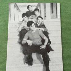 Fotos de Cantantes: LOS KRAMER'S FOTOGRAFÍA PROMOCIONAL CON AUTÓGRAFOS AL DORSO. Lote 171448910