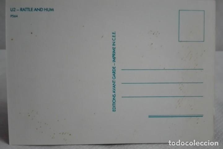 Fotos de Cantantes: POSTAL U2 PORTADA DEL DISCO RATTLE AN HUM - Foto 2 - 171631435