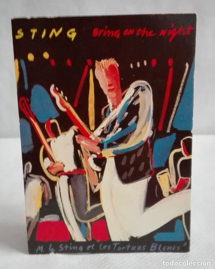Fotos de Cantantes: POSTAL STING BRING ON THE NIGT, AÑO 1986 - Foto 1 - 171631738