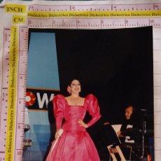 Fotos de Cantantes: FOTO FOTOGRAFÍA DE LA CANTANTE. ISABEL PANTOJA. COPLA FOLKLORE FOLKLÓRICA. 142. Lote 172537583