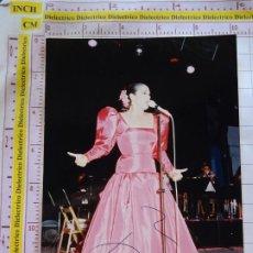 Fotos de Cantantes: FOTO FOTOGRAFÍA DE LA CANTANTE. ISABEL PANTOJA. COPLA FOLKLORE FOLKLÓRICA. 151. Lote 172539887