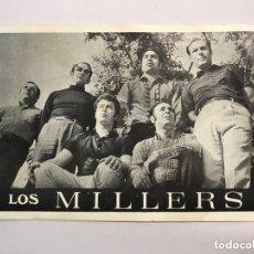 Fotos de Cantantes: MÚSICA. LOS MILLERS. GRUPO MUSICAL VALENCIANO?. POSTAL DISCOGRÁFICA. EXCLUSIVAS BUENAVENT (H.1970?). Lote 172734615