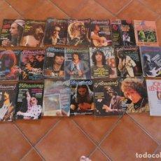 Fotos de Cantantes: LOTE DE 18 REVISTAS VIBRACIONES INCLUIDO NUMS 1 2 6 7 MÁS OTRAS DOS REVISTAS MAS OBSEQUIOS. Lote 172819448
