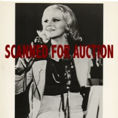 Fotos de Cantantes: PEGGY LEE. FOTO ORIGINAL, 1974.. Lote 173190947