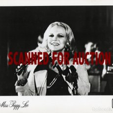 Fotos de Cantantes: PEGGY LEE. FOTO ORIGINAL, 1974.. Lote 173191004