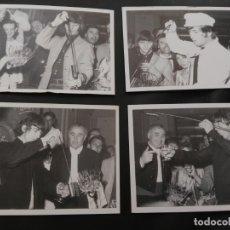 Fotos de Cantantes: SET 4 POSTALES EDICIÓN NUMERADA Y LIMITADA THE BEATLES MADRID . Lote 173629365