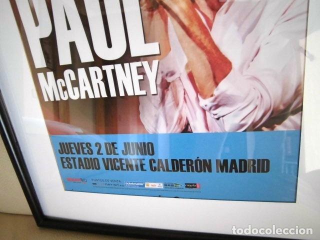 Fotos de Cantantes: BEATLES PAUL McCARTNEY POSTER PROMOCIONAL CONCIERTO MADRID ESTA NUEVO 30 X 40 CM - Foto 3 - 219150203